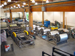 West Section of ROLOK Products Shop with Coil Line